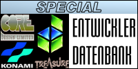 SEGA Entwickler Datenbank